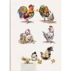 Chicken Cluster  - #TOR703  -  PRINT