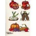 Vegetable Cluster  - #TOR706  -  PRINT