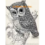 Owl  - #TOR794  -  PRINT