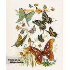 Butterflies  - #TOR855  -  PRINT
