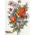 Summer Bouquet  - #TOR994  -  PRINT