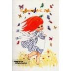 Field of Butterflies  - #TORG112  -  PARCHMENT PRINT