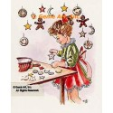 "1. Christmas Cookies  - #TM5016  -  FIVE PRINT 8x10"""
