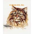 Cat  - #TOR5127  -  PRINT