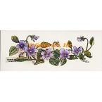 Violets  - #TOR5177  -  PRINT
