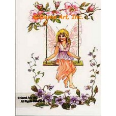 Fairy On Swing  - #TOR5220  -  PRINT