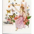 Fairy & Butterflies  - #TOR5221  -  PRINT