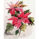 Poinsettia  - #TOR5258  -  PRINT