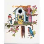 Birdhouse  - #TOR5265  -  PRINT