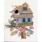 Birdhouse  - #TOR5266  -  PRINT