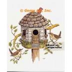 Birdhouse  - #TOR5267  -  PRINT