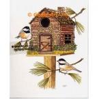 Birdhouse  - #TOR5269  -  PRINT