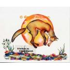 Coyote  - #LOR114  -  PRINT