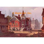 Country Town  - #DOR11  -  PRINT