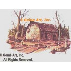 """Old Barn """"Mail Pouch""""  - #DOR4  -  PRINT"""