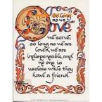 So Long As We Love  - #DOR32  -  PRINT