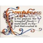 Forgiveness  - #DOR34  -  PRINT