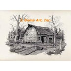 Mail Pouch Barn  - #DOR56  -  PRINT
