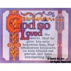 For God So Loved  - #DOR17  -  PRINT