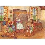 Schoolhouse  - #WOR6  -  PRINT