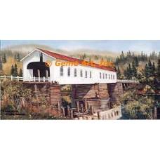 Mapleton Covered Bridge  - ROR204  -  PRINT