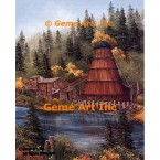 Cushman Mill  - #ROR205  -  PRINT