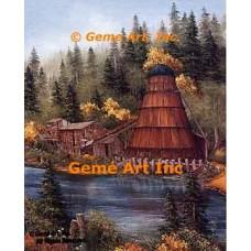 Cushman Mill  - ROR205  -  PRINT