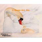 Swans  - #MOR1  -  PRINT