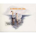 Swans  - #MOR4  -  PRINT