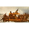 Washington Crossing The Deleware  - #XBAM86  -  PRINT