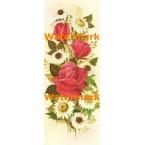 Pink Roses & Daisies  - #XBFL940  -  PRINT