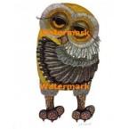 Vintage Owl  - #XRA852  -  PRINT