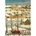 Winter Drive  - #XRA943  -  PRINT