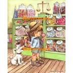 Candy Store  - #XBJ251  -  PRINT