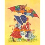 Umbrella Children  - #XBJ505  -  PRINT