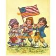 Patriotic Parade  - #XXBJ571  -  PRINT 4x5