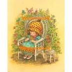 Garden Rest  - #XBJ681  -  PRINT