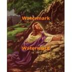 Christ in Gethsemane  - #XRKB51  -  PRINT