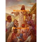 Jesus, The Children's Friend  - #XRKB56  -  PRINT