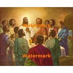 The Lord's Supper  - #XRKB60  -  PRINT