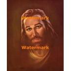 Portrait of Jesus  - #XRKB78  -  PRINT