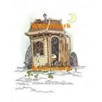 A Victorian House  - #XBKM677  -  PRINT