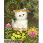 1.  Fluffy Kitten  - #XKL108  -  PRINT