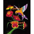 Neon Hummingbird  - XKL975  -  PRINT