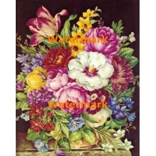 1.  Bouquet of Flowers  - #XBMC119  -  PRINT