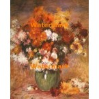 Vase of Chrysanthemums  - XBMC183  -  PRINT