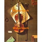 The Old Violin  - #XBMC68  -  PRINT