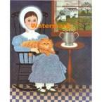 Young Gentlewoman  - #XBPO-438  -  PRINT
