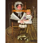 Mother and Daughter  - #XBPO-474  -  PRINT