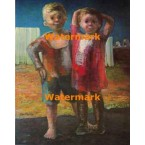 Brother and Sister  - #XBPO-513  -  PRINT